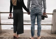 poner algo de distancia entre tu y una mujer para que puedas verla volver