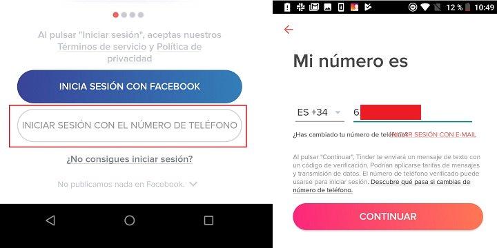 registrarse en tinder sin usar su cuenta de facebook es posible