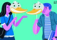 sindrome del pato que actitud tener en su relacion